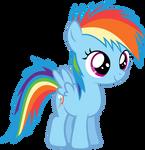 Filly Rainbow Dash