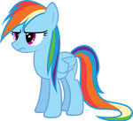 Wet Mane Rainbow Dash