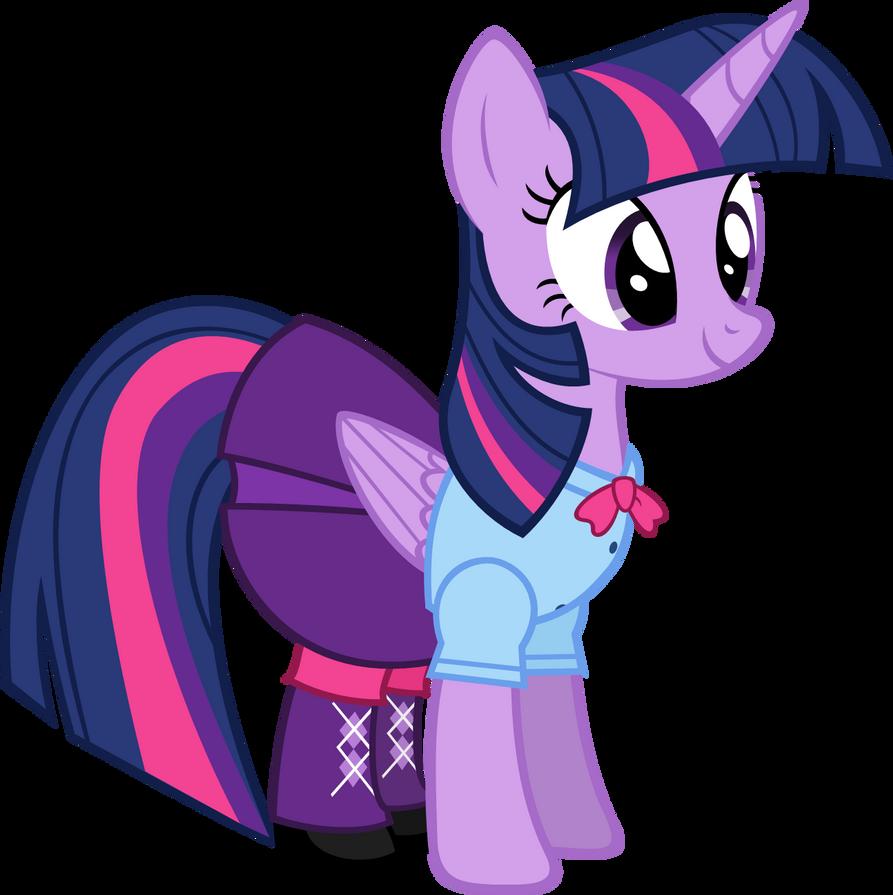 Twilight Sparkle - Equestria Girls Clothing by Zacatron94