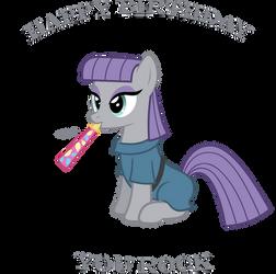 Maud Pie (Happy Birthday) by Zacatron94