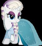 Rari-Elsa (Nightmare Night 2014 Costume)