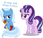 He is Trixie's
