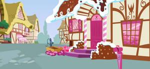 Sugarcube Corner Background [Exterior 2]