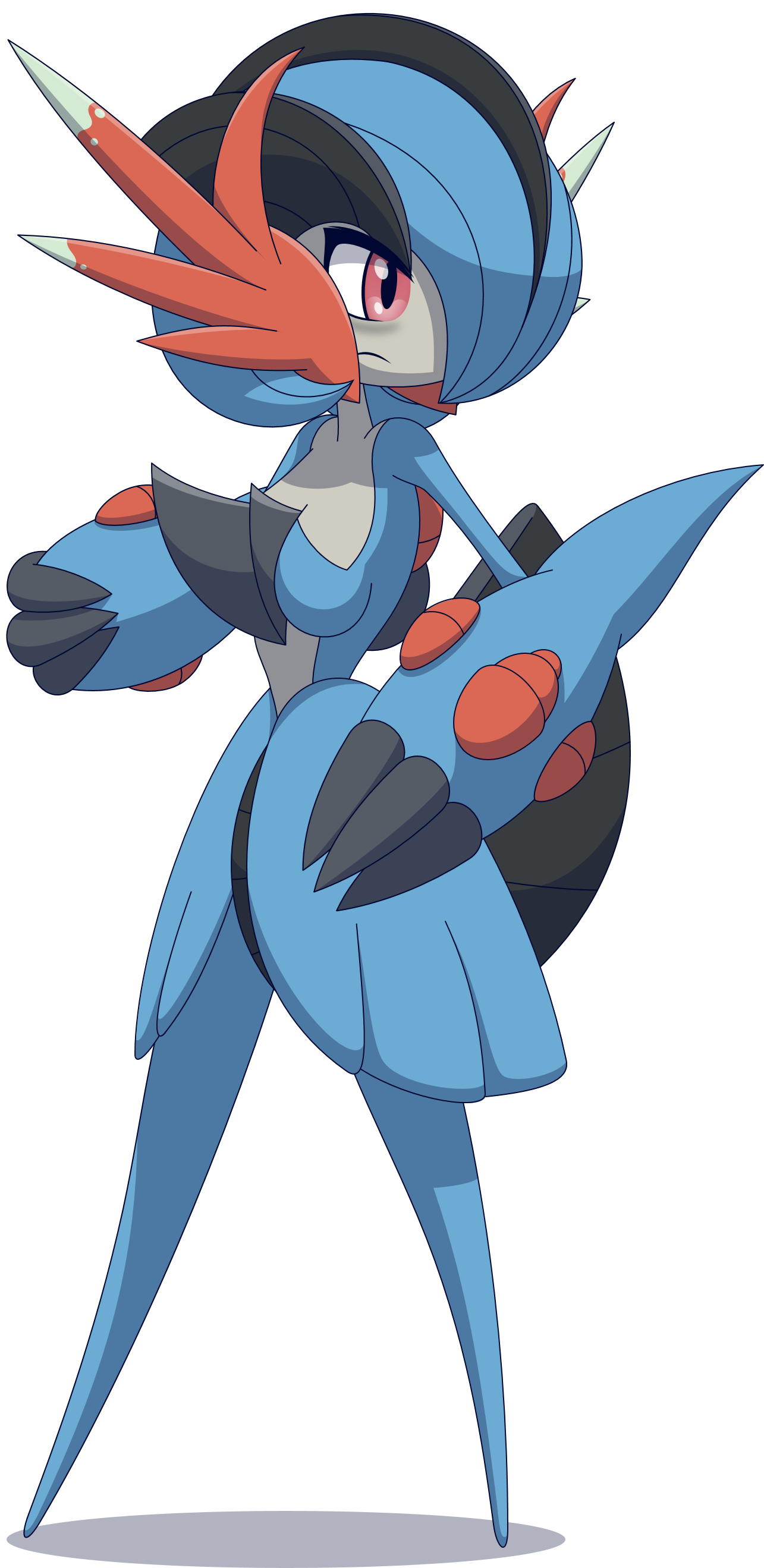 Mega Swampert Veronica by Zacatron94 on DeviantArt