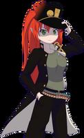 Lilibeth (Jotaro Cosplay) by Zacatron94