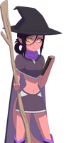 Arilith Infaris, the Tiefling Witch by Zacatron94