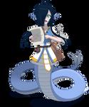 Aqua, the Lamia Cleric
