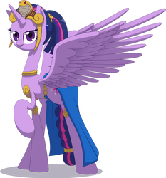 Space Princess Twilight [Commission] by Zacatron94