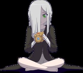 Kazz, the Half-Elf Sorcerer by Zacatron94