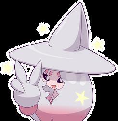 Shiny Hatterene