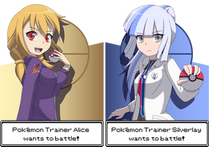 Pokemon Trainers, Alice and Silverlay