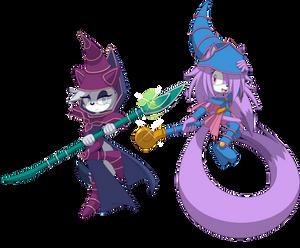 Dark Magicians, Sylvia and Noah