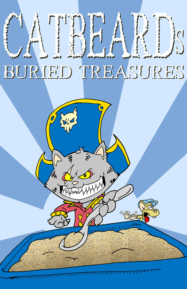 CatBeards Buried Treasures box by PlummyPress