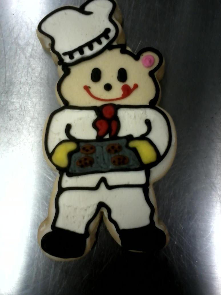 Baker Bear by PlummyPress