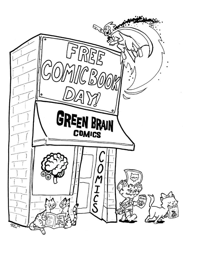 storefront coloring page by plummypress on deviantart