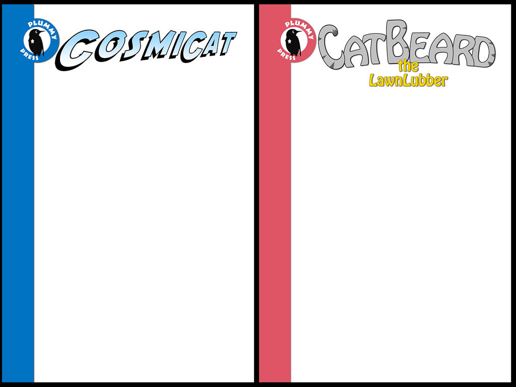 Book Cover Template For Students ~ Comic book cover templates by plummypress on deviantart