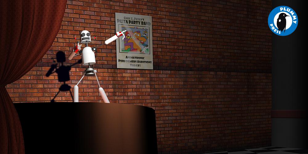 Animatronic Audition by PlummyPress