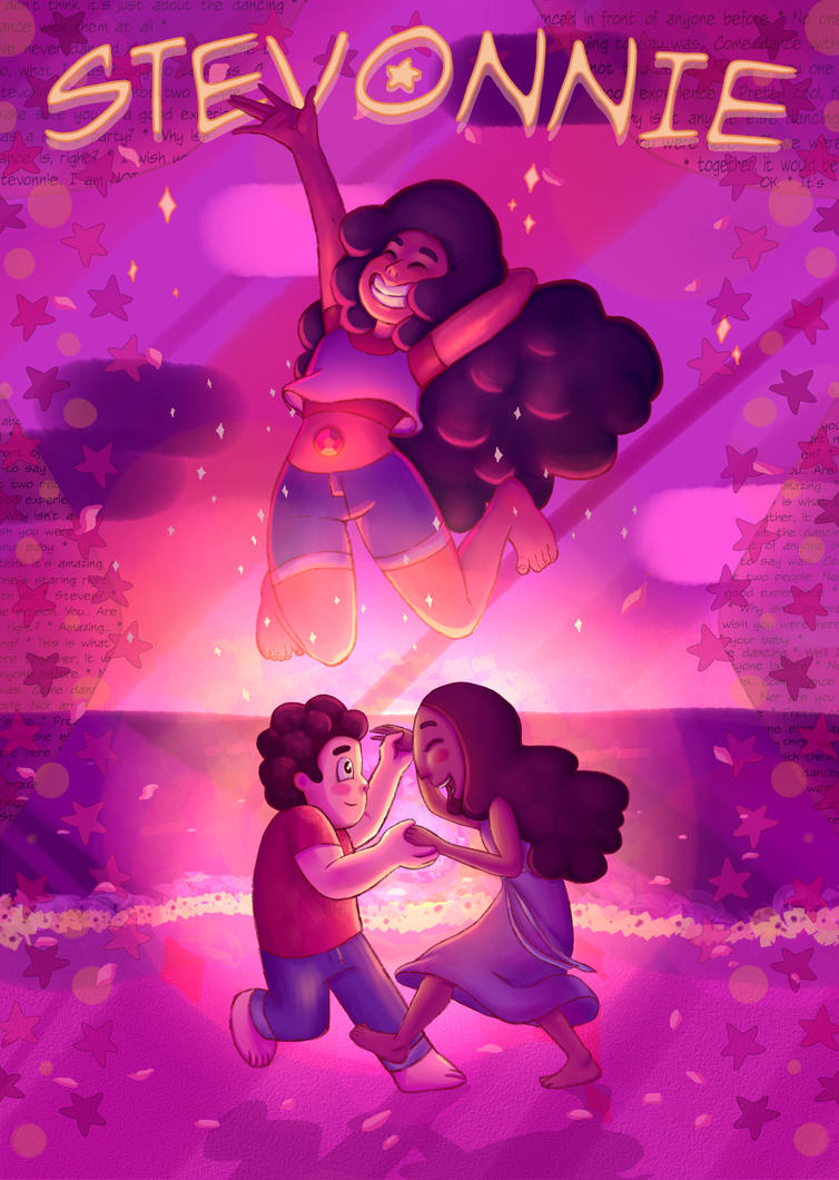 I've been working on this for ages and just finished it ^^! Alone Together was such a cute episode, I wanted to draw Stevonnie. I'm considering turning this into a series with all of the fusions......