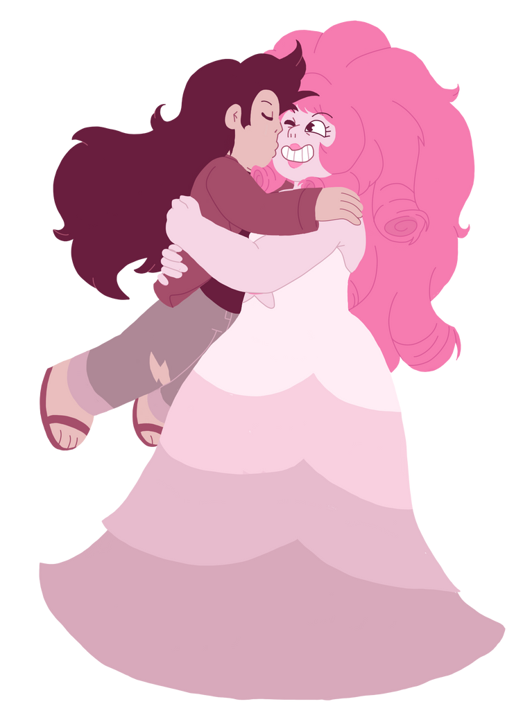 I like drawing in this simple style since it's good for focusing more on getting the actual shape of things and stuff, this was very fun to draw ^^ Rose and Greg are adorable, I'm enjoying drawing ...
