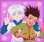 Hunter x Hunter - Killua and Gon
