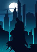 Dark Knight by OGARart