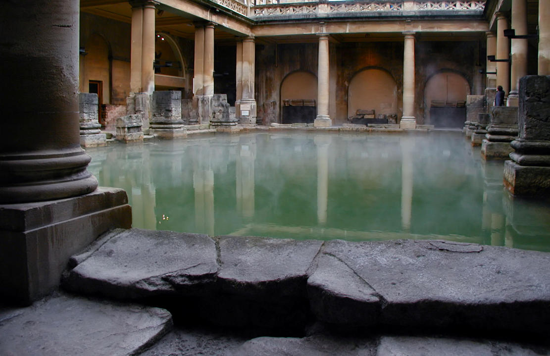 Marmurowe Łaźnie Roman_baths_by_demonicmonkies