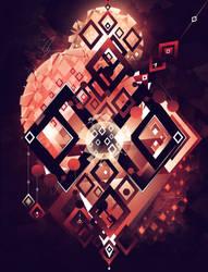 Lantern Crimson by Colors1