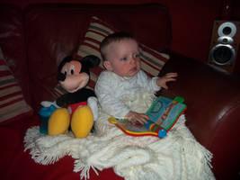 Child reading book STOCK by Charmedstar07