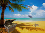 PREMADE Treasure Island Background