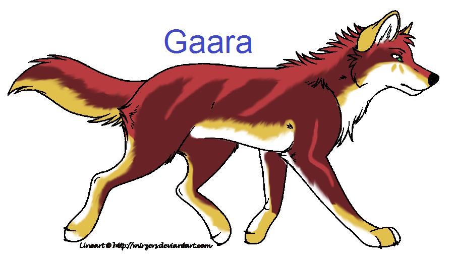 Gaara- Breedable by KThunderWolf on DeviantArt Gaara As A Wolf