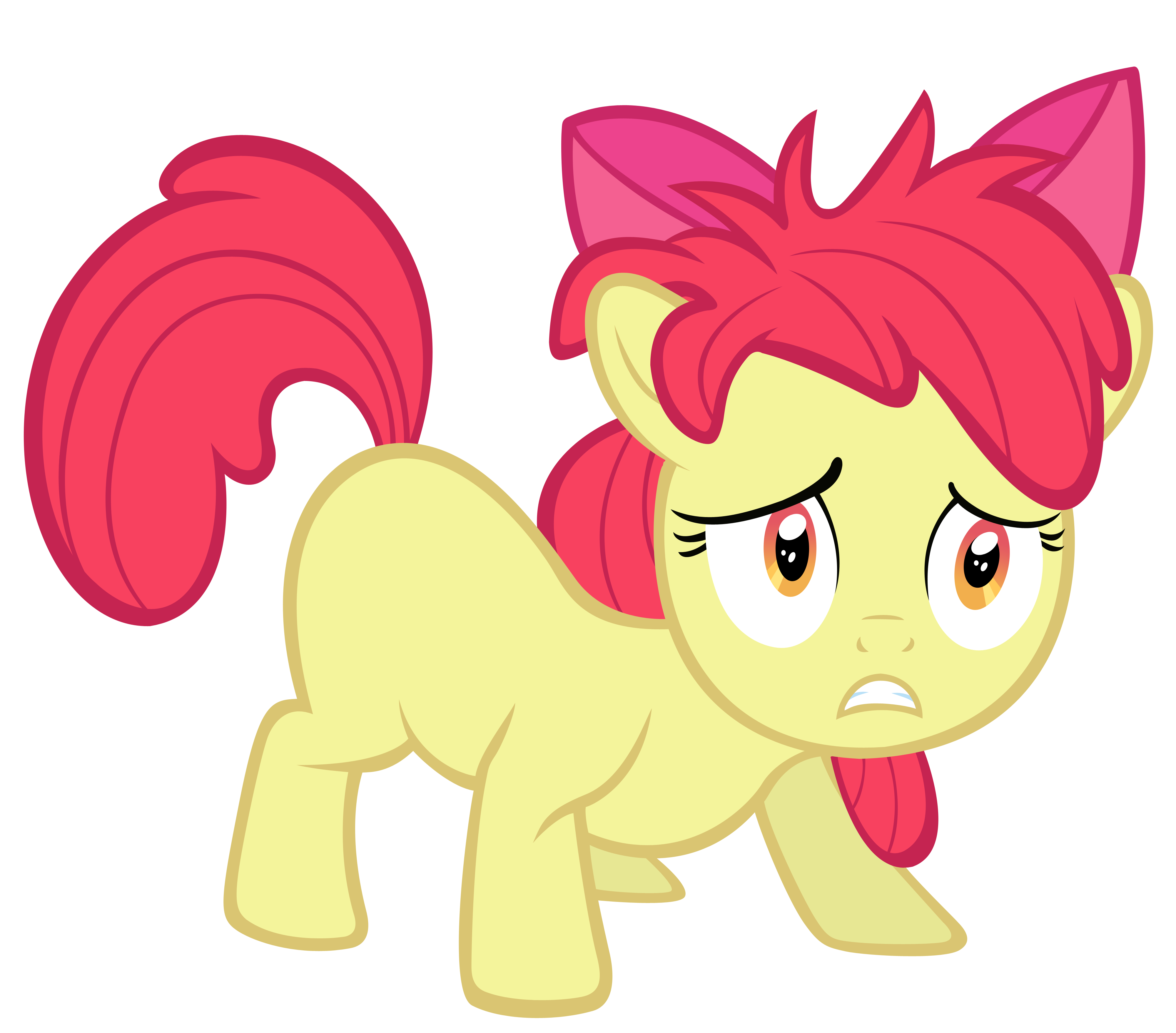 How To Draw My Little Pony Friendship Is Magic Apple Bloom