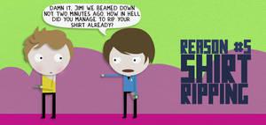nr.5 shirt ripping