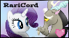 REQUEST: RariCord Stamp by DallyDog101
