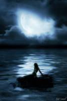 Mermaid in the Moonlight by nikkidoodlesx3