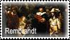 Rembrandt Van Rijn Stamp by MadeByRona