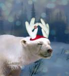 Harry the Red-Nosed Polar Bear by MadeByRona