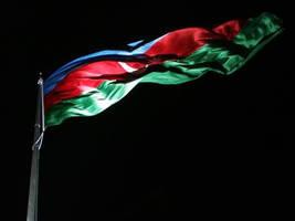 Flag of Azerbaijan by Azerbaijan