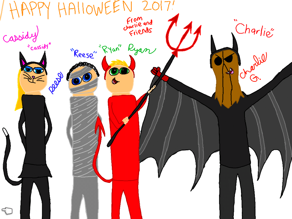 charlie And Friends: Happy Halloween 2017 by DestinyFrampton178 on ...