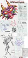 Majora's Mask Dump by Vaixation