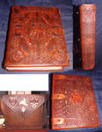 Hand made,tooled Book