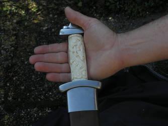 Mammen style bone sword pic5 by Bonecarverpm