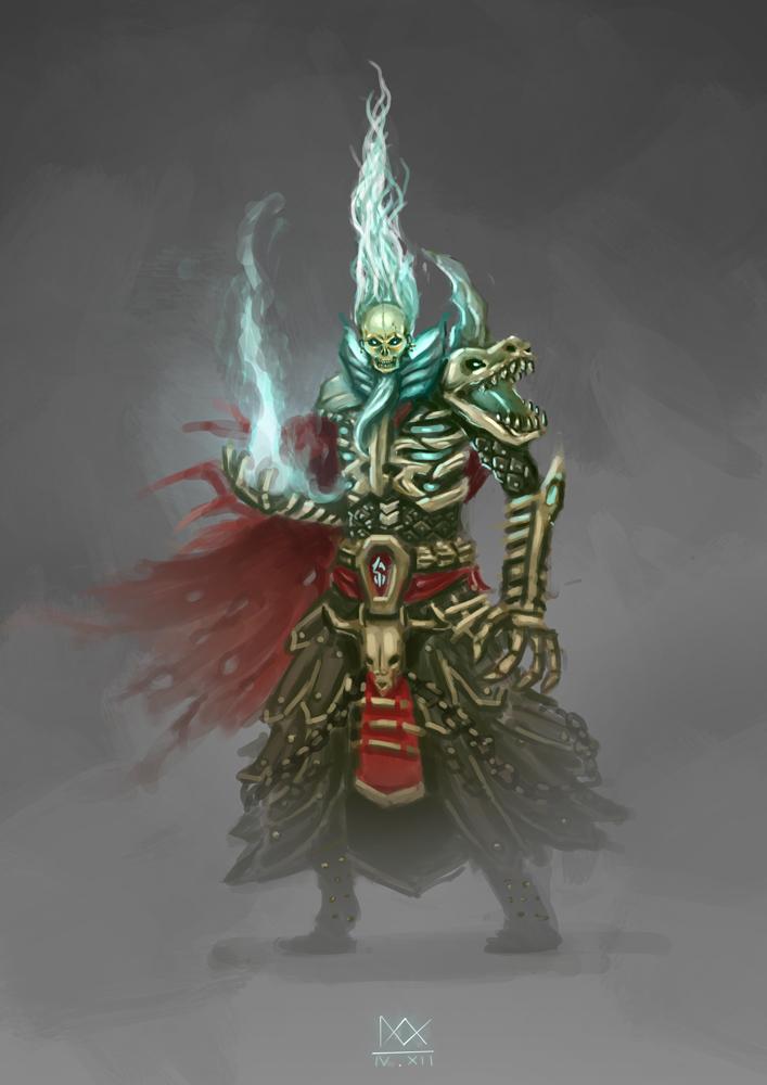 Diablo 2 Necromancer by ixxs