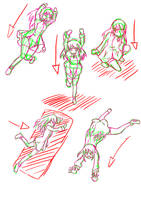 falling and landing practise by MandaDaPanda98