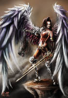 Scarlet Angel by IvanChanCL