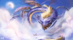 Cloud Dragon by IvanChanCL