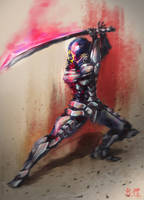 Sci-Fi Assassin by IvanChanCL
