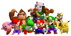All Super Smash Bros 64 Characters