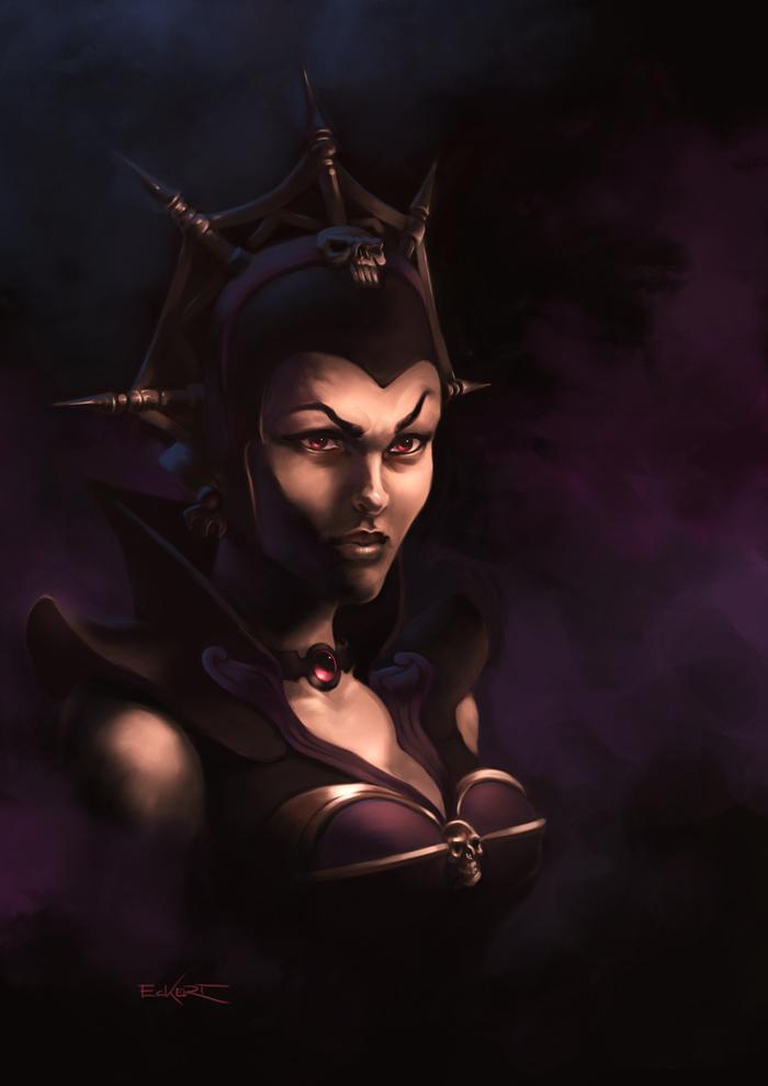 Evil Warrior Goddess