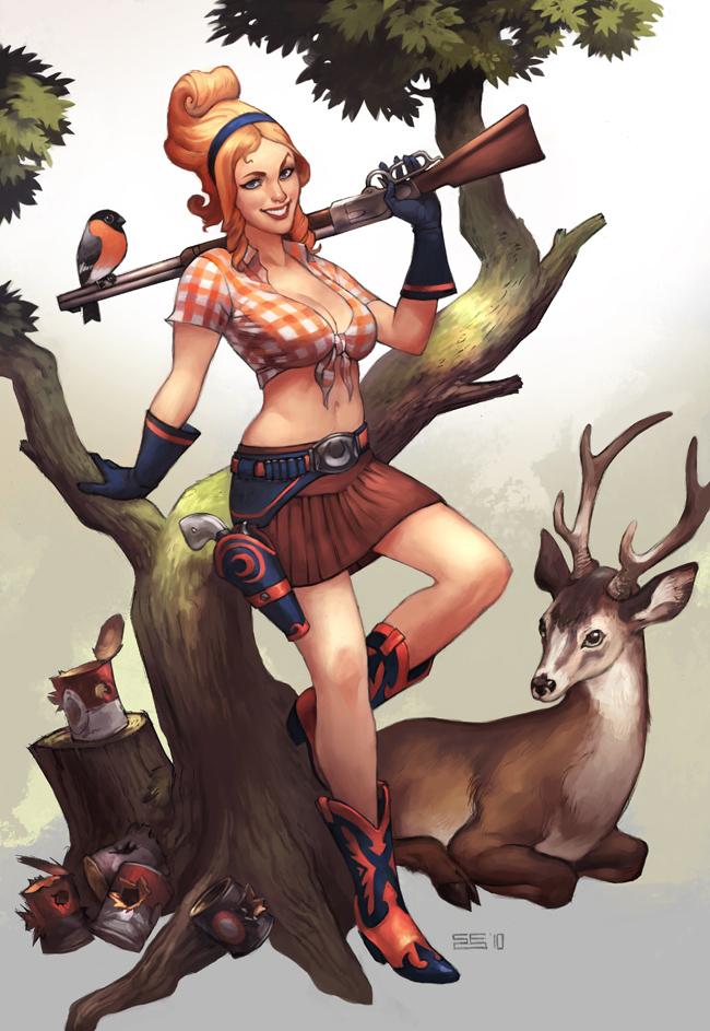 Artemis by Scebiqu