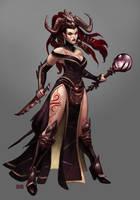 Death Magic by Scebiqu